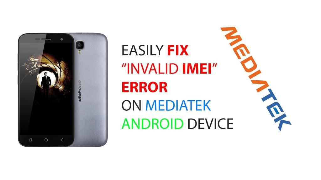 Writing an IMEI to a Mediatek chipset Android phone
