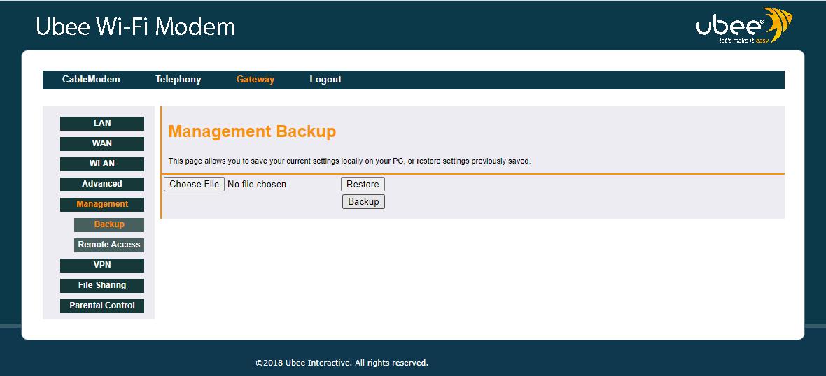 EVW32c Backup stranica