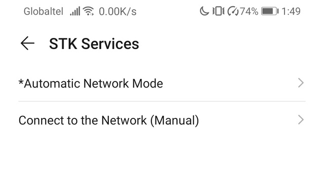 STK Services aplikacija