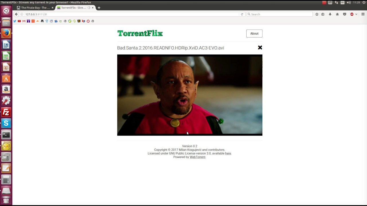 Showcasing TorrentFlix – Stream any torrent in the browser!
