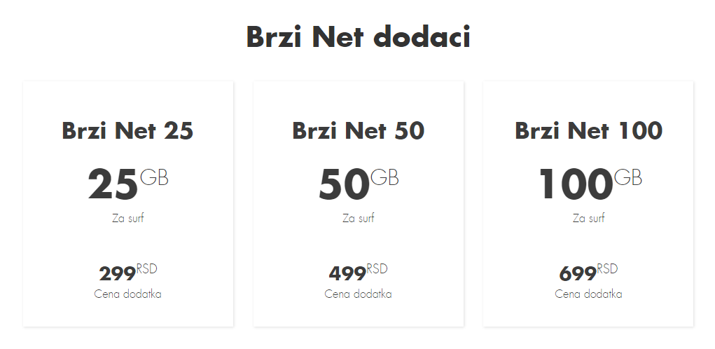 Vip Kućni Net – Brzi net tarifni dodaci